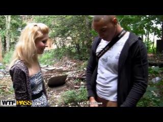 Русские пикаперы поймали и трахнули молодую блондинку