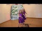 Трио: Даша, Лера, Арина на новогоднем концерте ВЭС